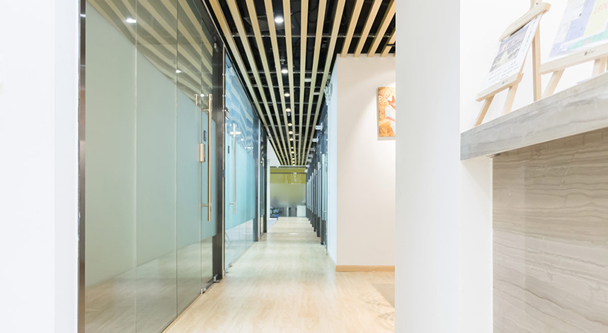 互联网公司办公空间走廊